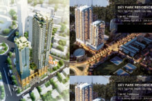 Dự án chung cư Sky Park Residences số 3 Tôn Thất Thuyết