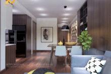 Thiết kế căn hộ 3 phòng ngủ đẹp phong cách hoàn hảo như mơ