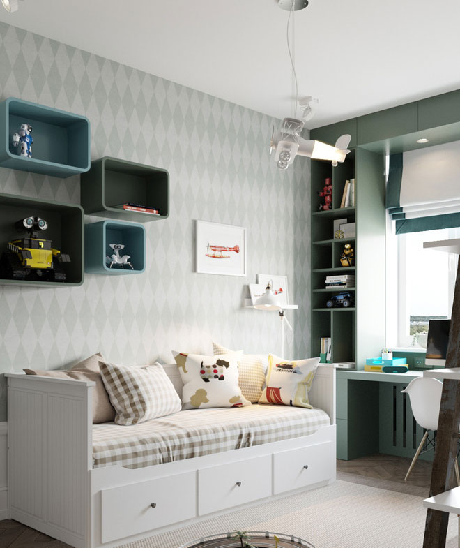 Căn hộ 3 phòng ngủ đẹp phong cách hoàn hảo như mơ