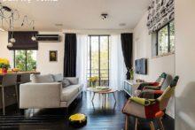 Vẻ đẹp nội thất trong căn hộ 46m2