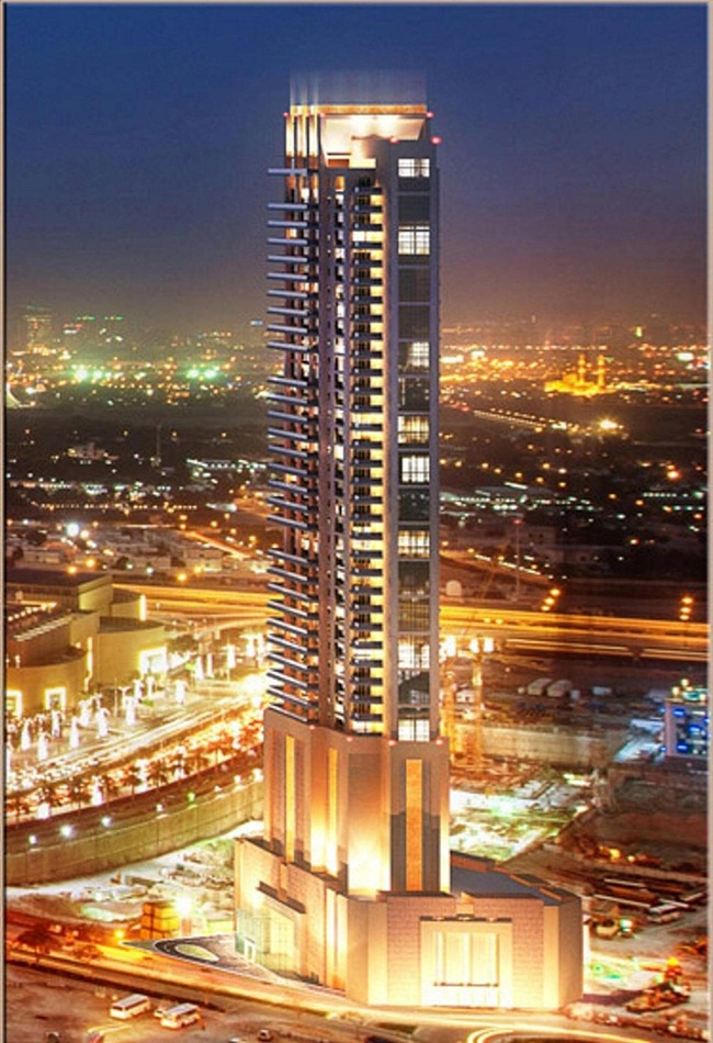 Ngắm tòa tháp chung cư đẹp tại Dubai cực chất