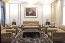 Công trình thi công nội thất biệt thự Lâm Hạ