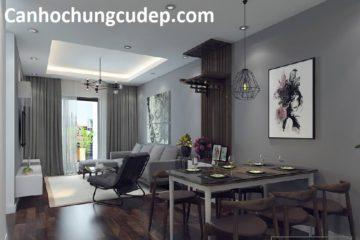 Mẫu thiết kế nội thất căn hộ dự án Hà Đông