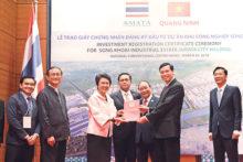 Trao giấy chứng nhận đầu tư cho Tập đoàn Amata Việt Nam tại Quảng Ninh