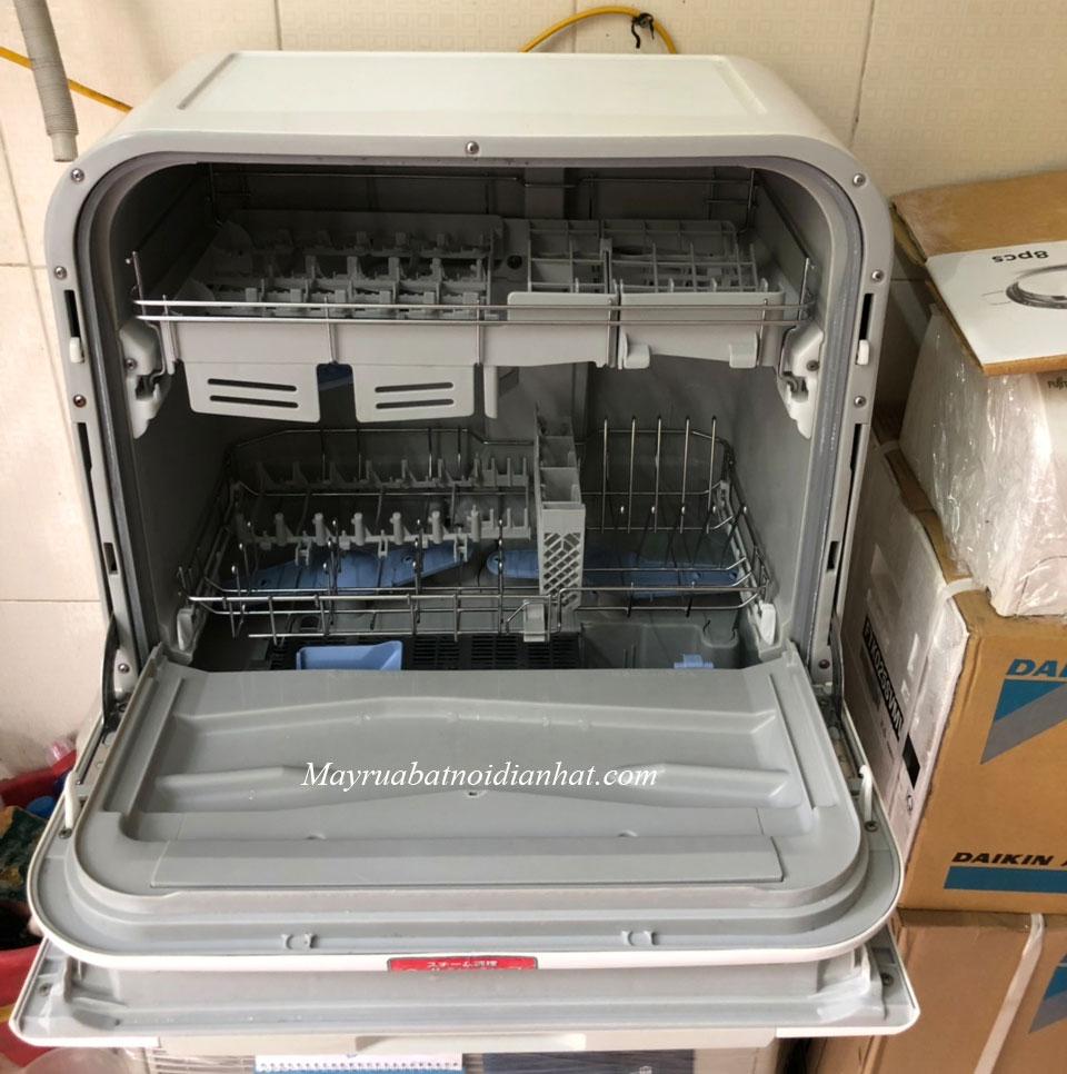 Kiểu mở của Máy rửa bát nội địa Nhật Panasonic, National TM
